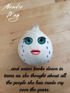 Crying onion