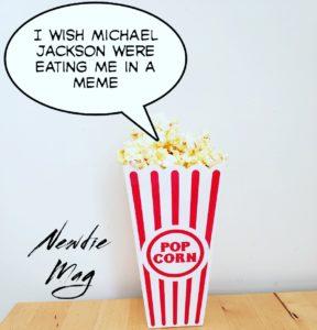 Michael Jackson popcorn meme wannabe