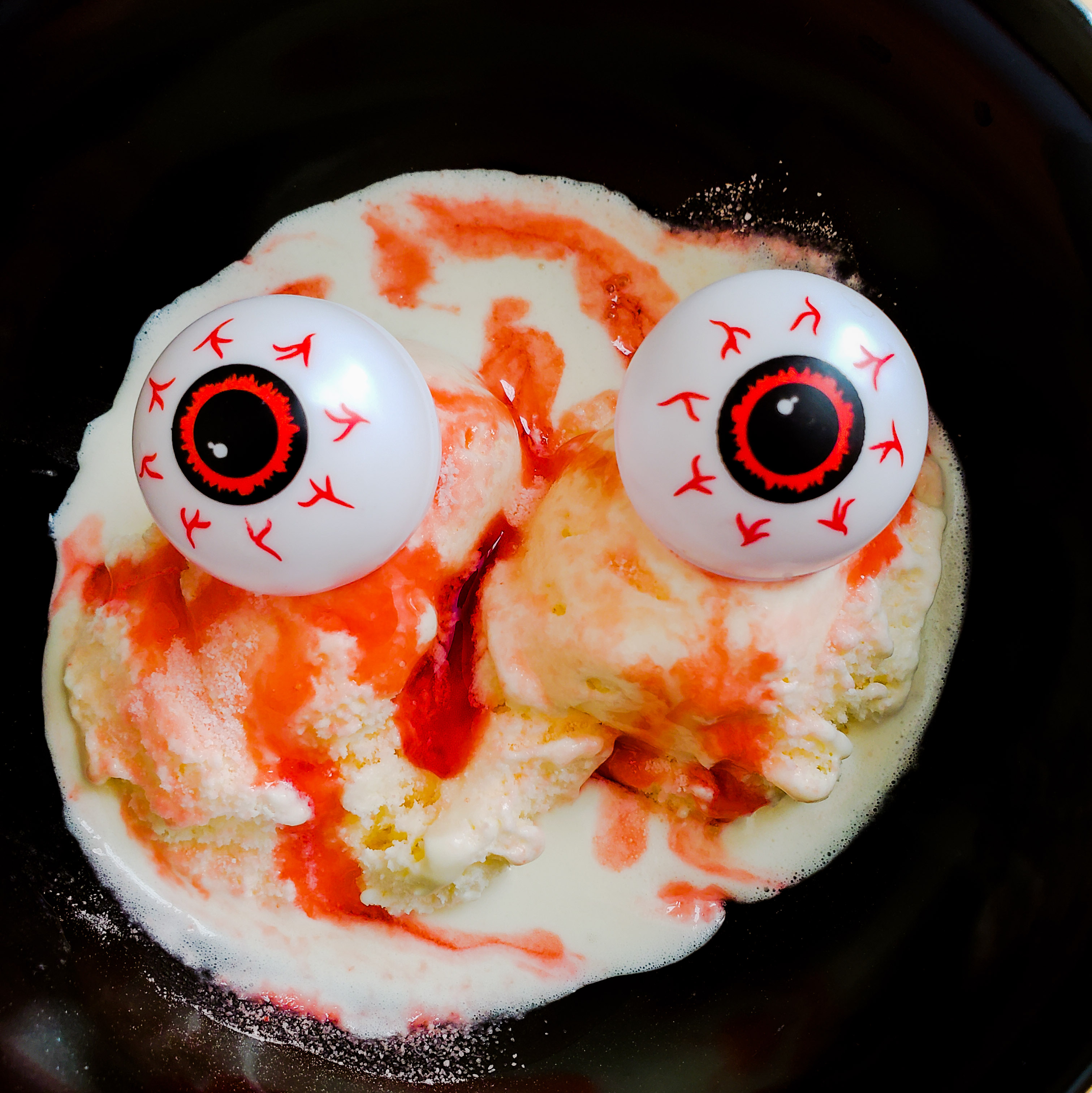 Eye Scream from the Haunted Kitchen
