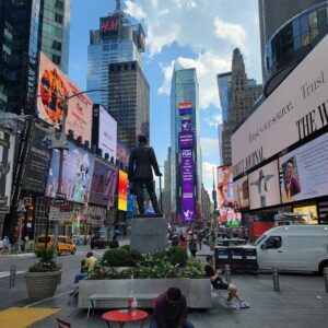 Times Square used to be called Longacre Square